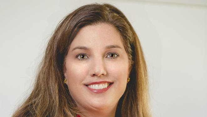 Jennifer Luteran, a stay-at-home mom and former school board candidate, has applied for a vacant county commission seat.