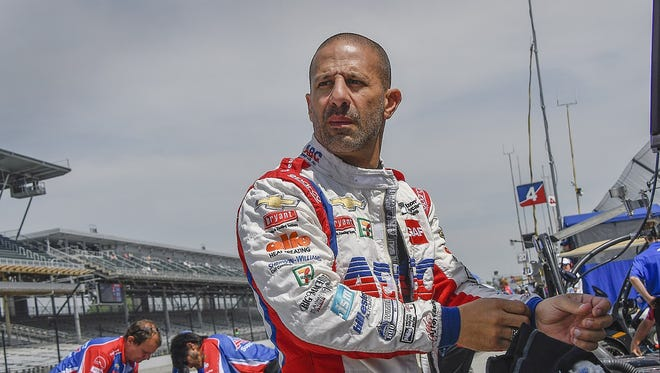 Tony Kanaan said listening to country music helped him learn to speak English.