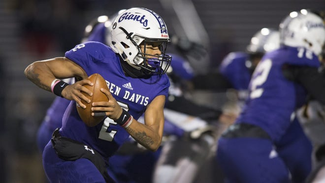 Ben Davis QB Reese Taylor is one of the most electric players in the state.