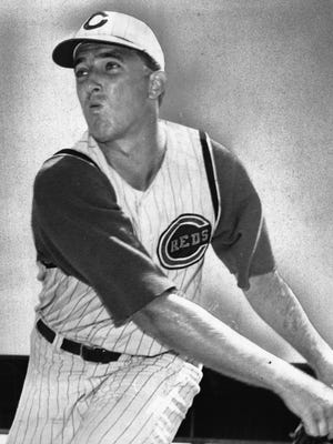 Jim Maloney held the Chicago Cubs hitless through 10 innings for a 1-0 victory in August of 1965.