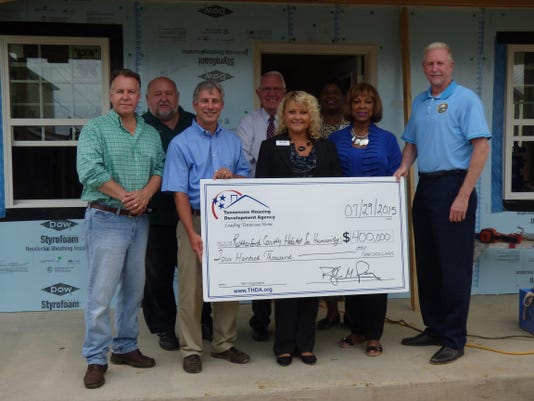 Rutherford County Area Habitat for Humanity HOME grant 2