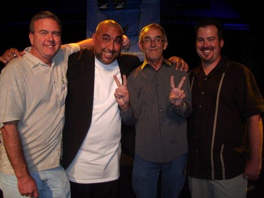Wayne Wright (left)_2c with comics Sean Peabody_2c Ron Shock and Wayne Walsh.jpg