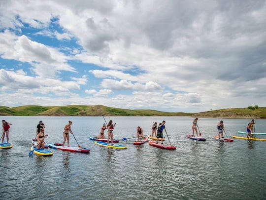 SUPfest in Havre has a wealth of stand-up paddleboard events this weekend.