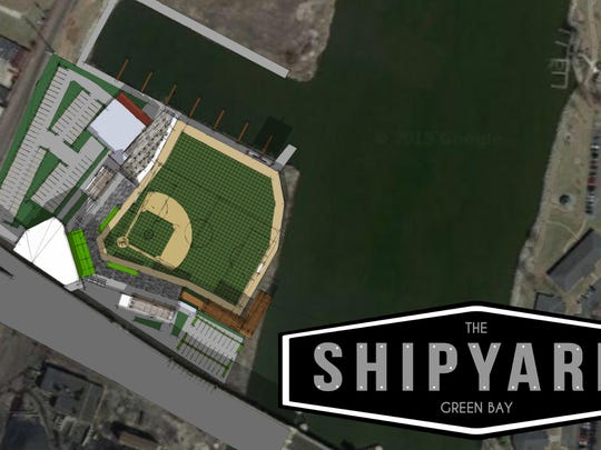 Artist rendering of The Shipyard Green Bay