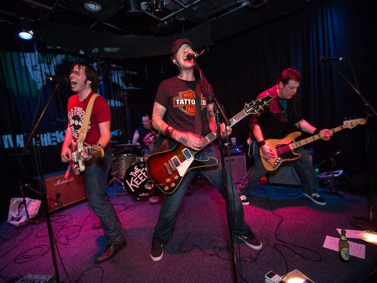 Area rock act The Keefs featuring Planet Ten's Kenn