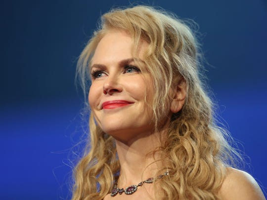 Nicole Kidman accepts the International Star Award