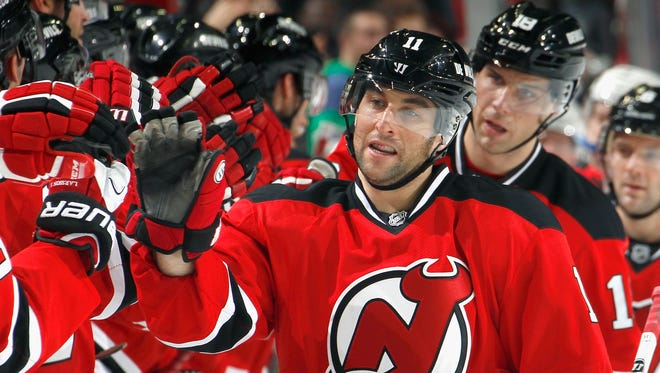 Stephen Gionta played 270 games with the New Jersey Devils through the 2015-16 National Hockey League season.