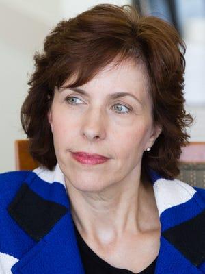 Jennifer Wortham meets with The Desert Sun Editorial Board on Sept. 15, 2016.