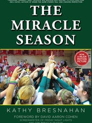 """The cover of """"The Miracle Season,"""" a book written by"""