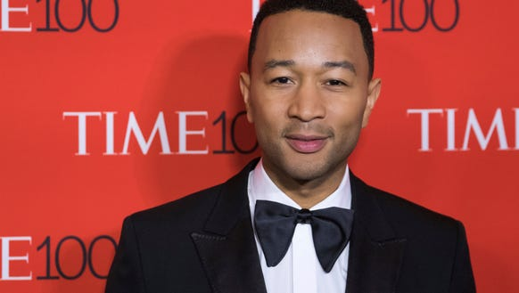 John Legend at the TIME 100 Gala.