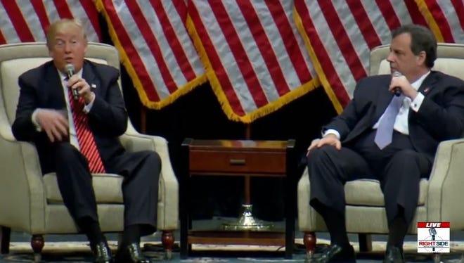 Christie interviews Donald Trump
