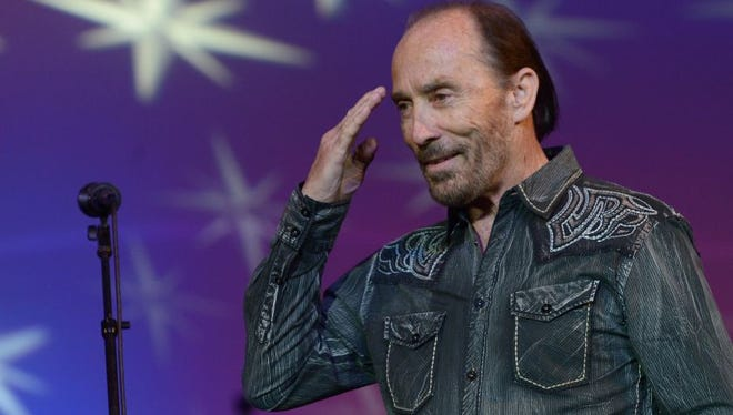 """Lee Greenwood will perform his patriotic anthem """"God Bless the USA"""" during a halftime show with all five branches of the military for the Pro Football Hall of Fame Game on Aug. 7 in Canton, Ohio. The Green Bay Packers play the Indianapolis Colts in the preseason game."""