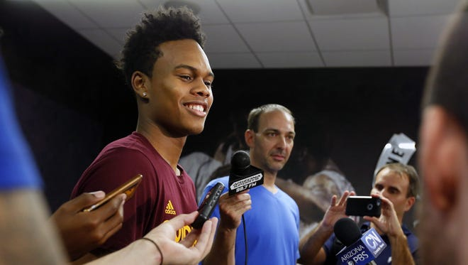 Tra Holder continues to improve for the Sun Devils.