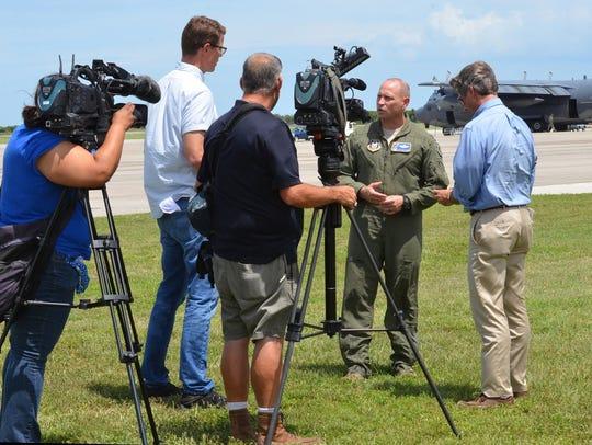 Col. Kurt Matthews, 920th Rescue Wing, Patrick Air Force Base.