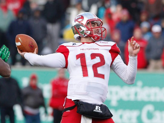 Led by QB Brandon Doughty, Western Kentucky is the
