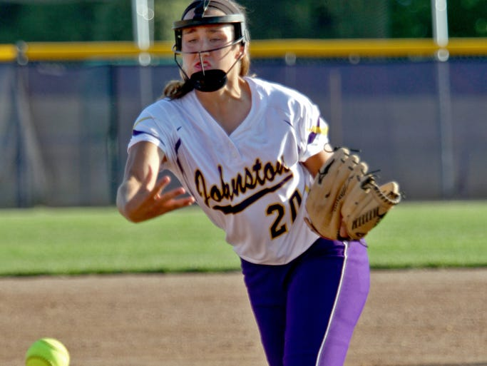 Johnston's Haylee Towers capped her season with a Class 5-A state championship.