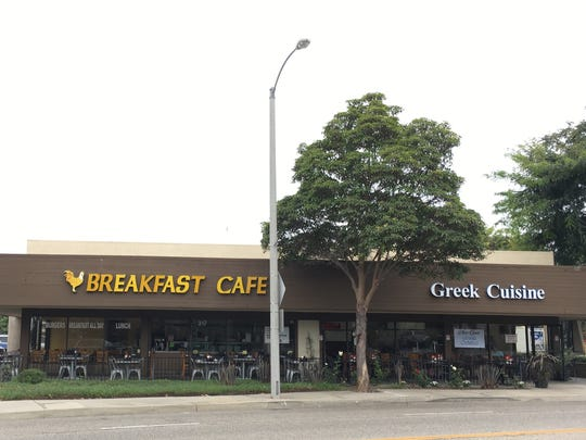 Breakfast Cafe, which opened in 2007, and Greek Cuisine, which debuted this month, share owners and side-by-side addresses in Camarillo's Carmen Plaza shopping center.