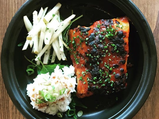 The Broiled Black Cod at Pubstreet in Pleasantville