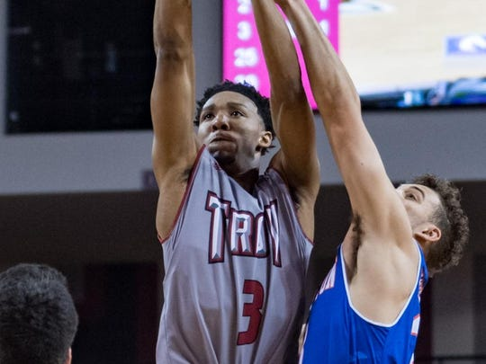 Wesley Person Jr. finished with 39 points in Troy's victory Saturday.