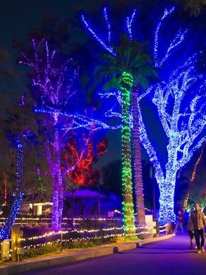 phoenix zoo lights 2020