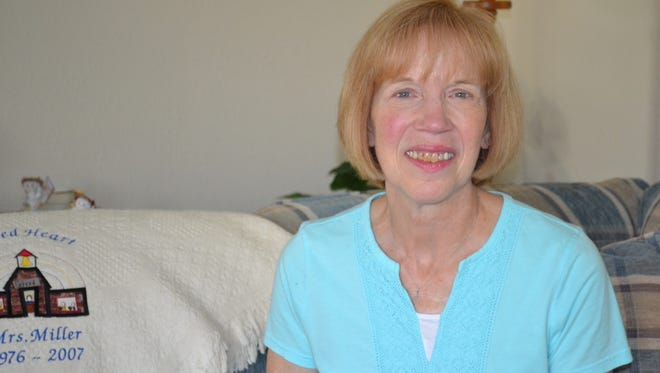 Carol Miller was uncomfortable around serious illness for years before she watched ProMedica Hospice-Clyde care for her dying parents. Now, Miller is a hospice volunteer who considers it a privilege to visit patients during one of the most intimate times of their life.