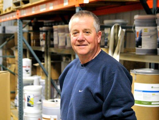 Matt Silbernick of Genex Farm Systems in Melrose stands