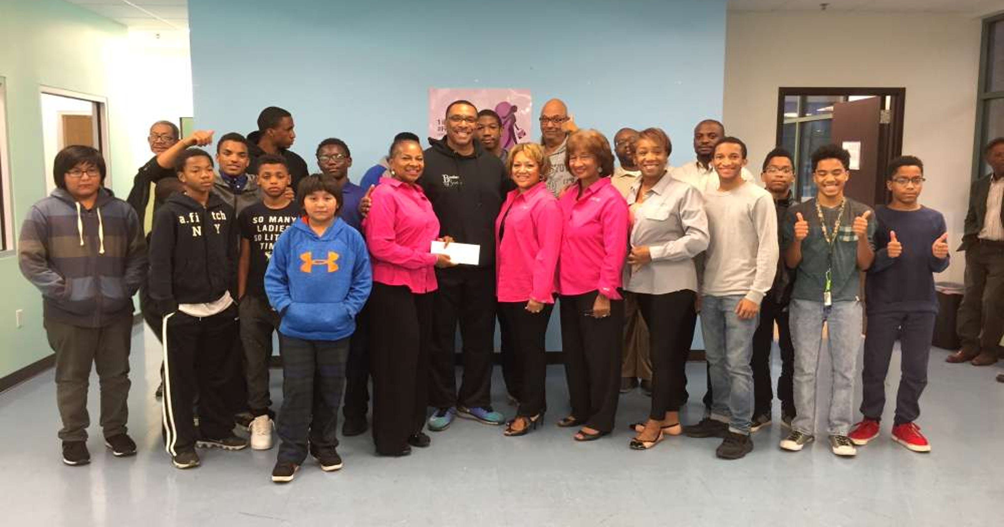 Montclair's Brother to Brother program gets donation from