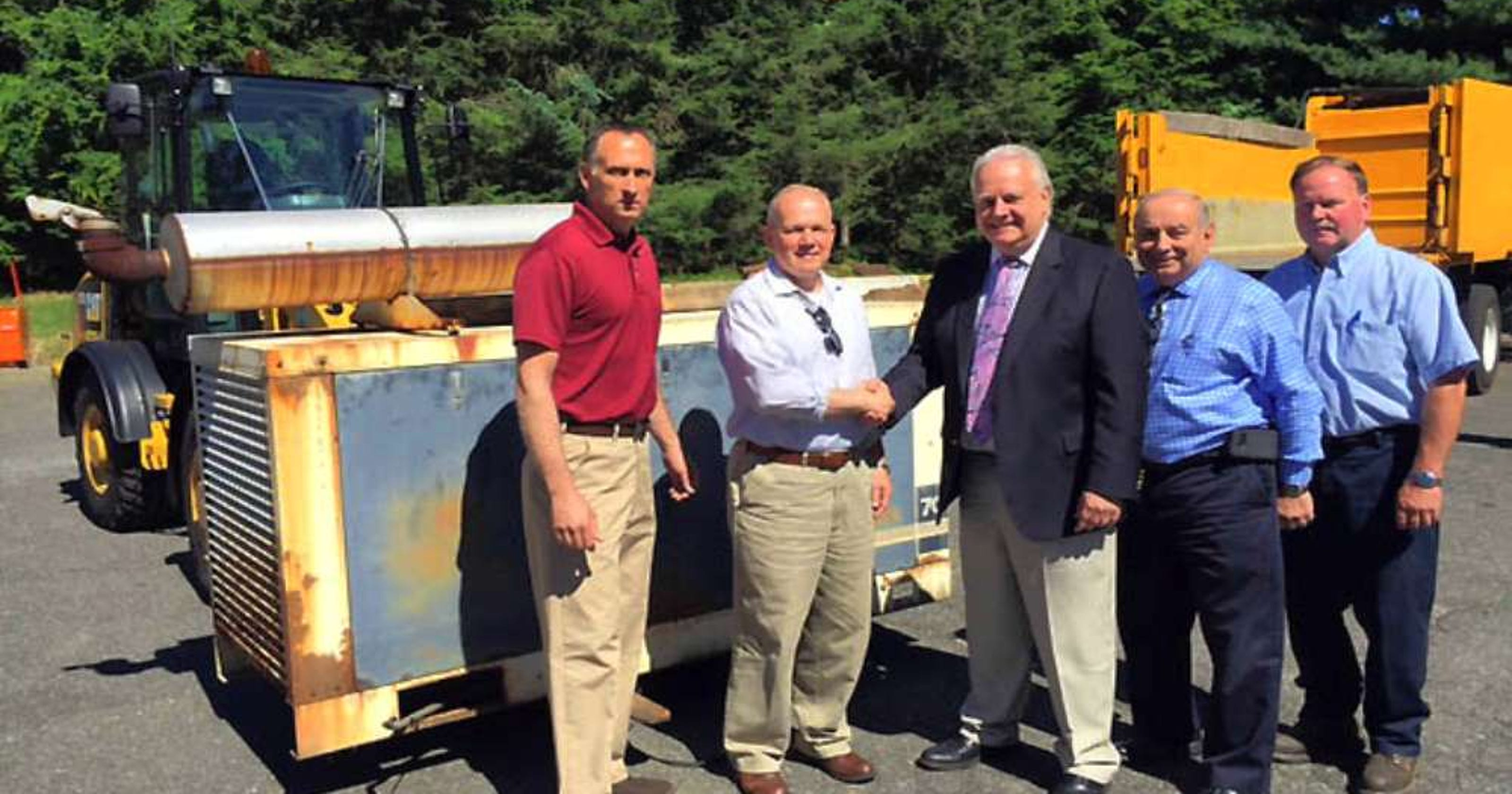 Saddle River town officials find good home for generator