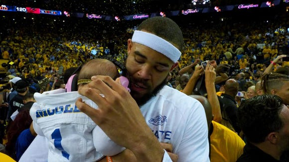 Steph Curry shared parenting wisdom with JaVale McGee