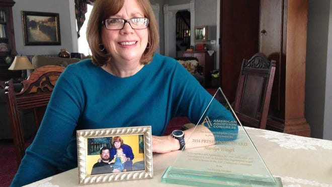"""Marilyn Waugh, shown here, will make a virtual presentation Sunday about """"The History of Adoption in Kansas."""""""