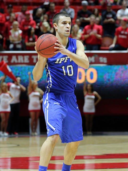 NCAA Basketball: IUPU - Ft. Wayne at Utah