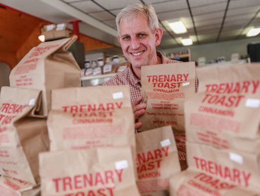 Trenary Toast owner Andy Reichert, 50, of Chatham,
