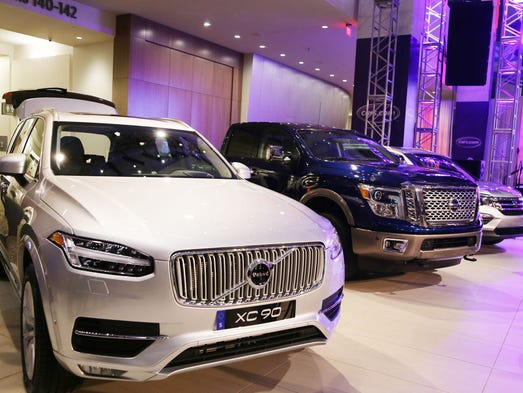 The Volvo XC90 is awarded the North American Truck