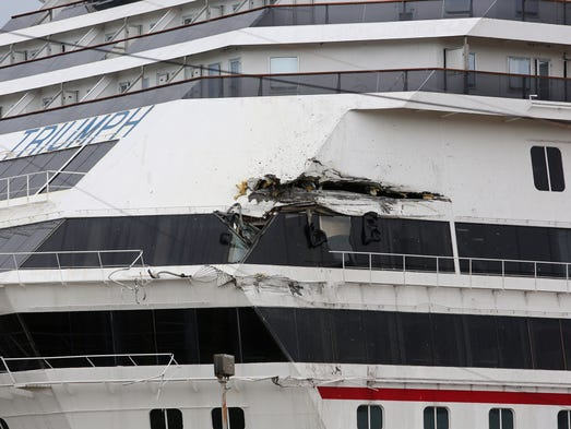 Giant Royal Caribbean Ship Damaged In Extreme Storm Will