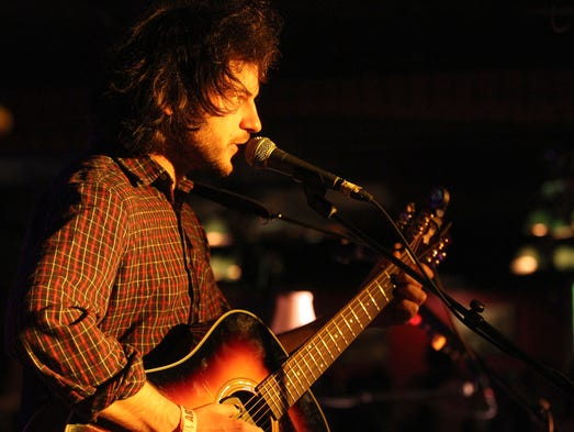Ryley Walker performs for fans at The Mill during Mission