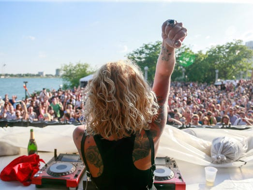 Heidi performs on the Beatport stage during Movement