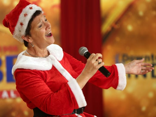 Elizabeth Young-Collins, aka Ms. Santa, auditions,