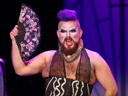 Scott Keith performs as Dr. Frank N. Furter during