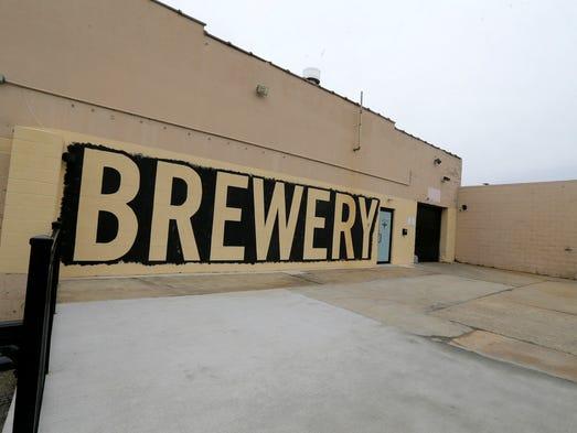 Exterior of Asbury Park Brewery in Asbury Park, NJ