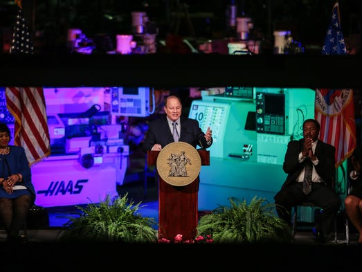 Detroit's Mayor Mike Duggan gives his 2017 State of