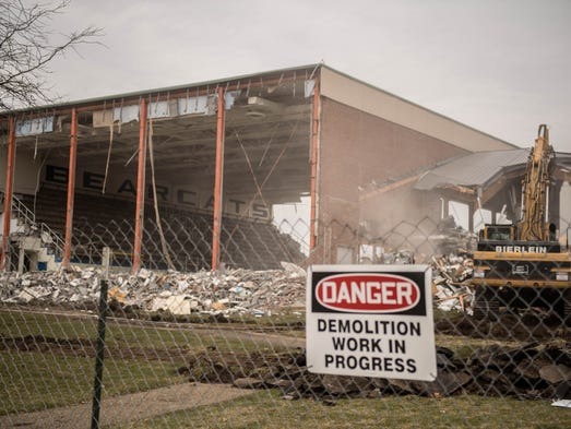 Demolition work has begun on Kellogg Community College's