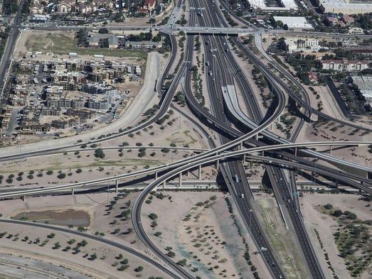 Nick Oza/The Republic Arizona Department of Transportation