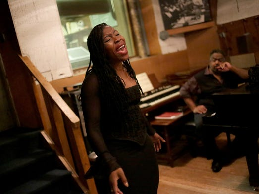 Amina Nwabueze, of Pontiac auditions for Motown: The