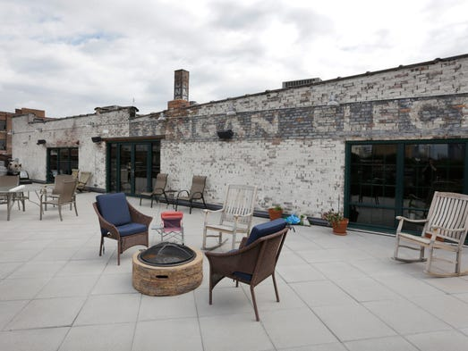 Pieces Of History Make This Detroit Loft Special