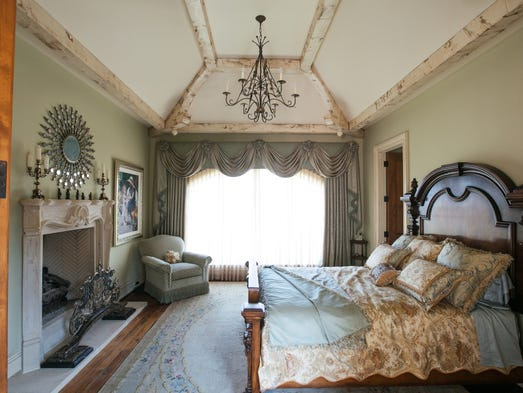 More is more and less is a bore in this ornate bloomfield - House of bedrooms bloomfield hills mi ...