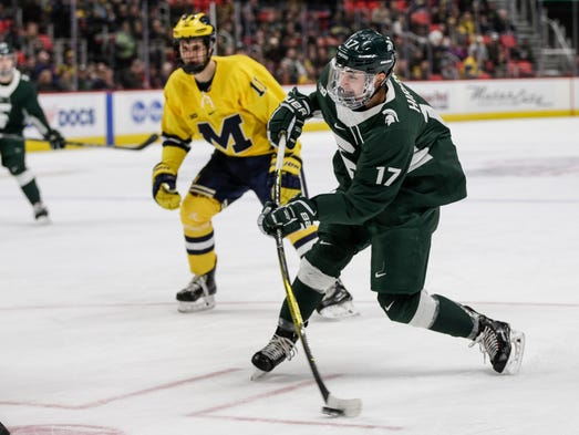 Image result for michigan state hockey 2018