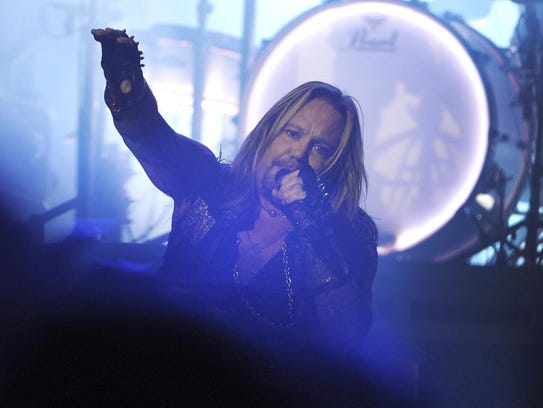 Vince Neil of Motley Crue is one of many headlines