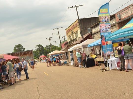 The Downtown Spring Art Festival is 10 a.m. - 6 p.m. Saturday at Antique Alley.
