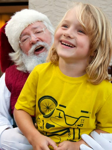 Scenes from the Santa Claus Society's 3rd annual fundraiser