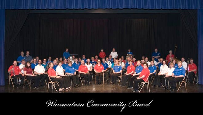 The Wauwatosa Community Band is sponsored by the Wauwatosa Recreation Department and directed by Donna Kummer.